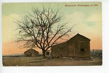 Kennewick WA in 1899—Antique Frontier PC Shack Cabin—Benton County 1910s