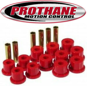 Prothane 7-1008 1973-1986 Chevy GMC C20 C30 K30 Rear Leaf Spring Bushing Kit