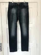 "Mens STRETCH JEANSWEST JEANS SIZE 33 ""SKINNY"""