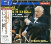 VACLAV NEUMANN.CZECH PHILHARMONIC ORCHESTRA-SYM. 9. : DVORAK...-JAPAN HQCD C94