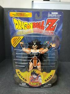 Raditz Vintage Dragonball Z DBZ Saiyan Saga Action Figure 2000 Irwin Toys New