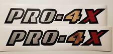 "PRO-4X decal Sticker Nissan truck vinyl cut 18"" (set)"