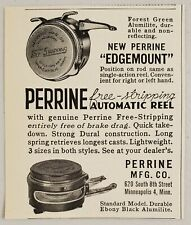 1951 Print Ad Perrine Automatic Free Stripping Fly Fishing Reels Minneapolis,Mn