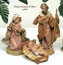 """Fontanini Depose Italy 5"""" Series Holy Family Village Nativity Mib 72513 Mint"""