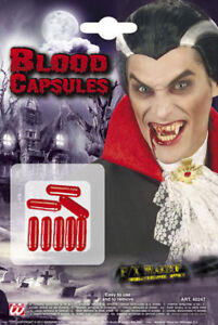 Widmann Carnevale Halloween Blood Capsules Capsule Sangue 4024T