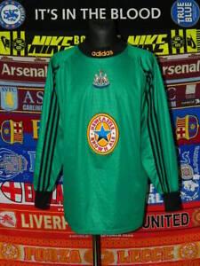 5/5 Newcastle United adults XXL MINT 1997 goalkeeper football shirt jersey