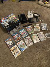 Nintendo Wii U 32GB Black Bundle, 11 Games, 3 Controllers, & Extras!