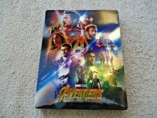 AVENGERS INFINITY WAR BLU-RAY (WeET Exclusive Replacement Steelbook ONLY!) NEW