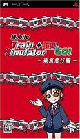 Used PSP Mobile Train Simulator + Densha de GO! Tokyo Kyuukou Hen Japan Import