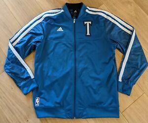 Minnesota Timberwolves Court Jacket 2012 Rare NBA Adidas Large Blue