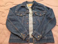 Levi Strauss & Co Blue Jean Denim Jacket Coat Boy or Girl Youth 16 Med