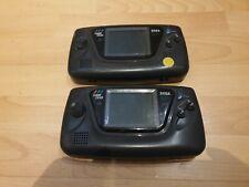 2x Sega Game Gear Schwarz Handheld-Spielkonsole  Defekt