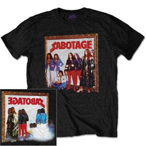 Black Sabbath Sabotage Album Shirt S-XXL T-Shirt Official Metal Band Merch