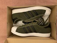 Adidas Mens Superstar In Sage/black/white Size 11