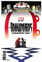 Inhumans Judgment Day #1 Marcos Martin Variant Marvel Comic 1st Print Unread NM