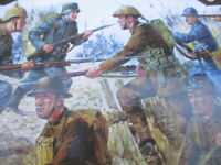 World War 1 Playset Armies in Plastic Playset Plastic Toy Soldier Trench Section