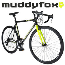 Muddyfox Road 14 Touring Road Bike with 700C Wheel in Black and Yellow