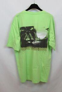 Relax in Paradise Men's T-Shirt Neol Green Medium Classic Paradise Shores New