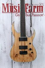 BC Rich Shredzilla Extreme 7 Exotic 7 String Electric Guitar Spalted Maple Top