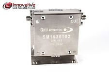 QUEST MICROWAVE INC SM1530T02 Coaxial SMA Isolator