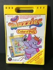 Wuzzles Colorforms Color N Play Coloring Book