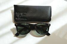 Genuine Vintage Ray Ban Bausch & Lomb Wayfarer B & L 5024 black !!!
