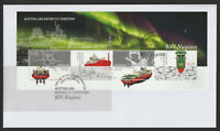 Australian Antarctic Terrotory 2020 :RSV Nuyina - First Day Cover with Minisheet