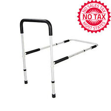 Bed Assist Handle Adjustable Rail Height Safety Bar Grab Hand Medical Handicap