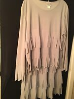 Gray FAD Womens Skirt Suit Size 2XL