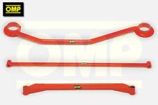 OMP STRUT BRACE COMBO 3 SET VAUXHALL ASTRA MK2 GTE 16V