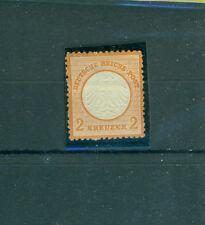 Ungebrauchte Briefmarken aus dem deutschen Reich (1872-1874) mit Falz