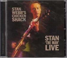 "STAN WEBB�€™S CHICKEN SHACK �€"" STAN �€˜THE MAN�€™ LIVE (New & Sealed) CD Reissue"