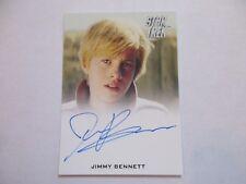 2017 Star Trek Beyond Trading Cards Jimmy Bennett as Young Kirk Autograph (FB)