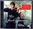 Joshua BELL French Impressions FRANCK RAVEL SAINT-SAENS Violin Sonatas CD DENK