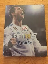 Scanavo SteelBook Limited Edition FIFA 18 Ronaldo Case Xbox One PlayStation PS4