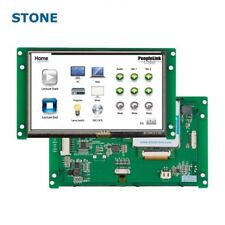 Stone 7 Inch 5 Hmi Tft Lcd Display Stvc050wt 01 With Led Demo