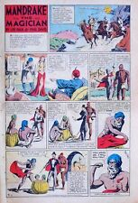 Mandrake the Magician by Phil Davis - EARLY full tab page Sunday - June 2, 1935
