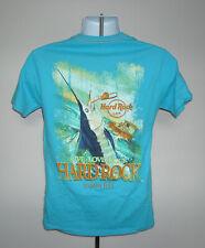 Hard Rock Cafe Tampa Bay t shirt Mens Small Marlin logo Live Love Rock Ocean