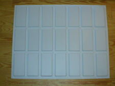 24 SUBWAY TILE MOLDS #0925 FLAT FACE BRICK VENEER MAKES 1000s OF BRICKS OR TILES