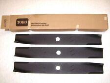 "Toro Wheel Horse OEM Original 106637  48"" blade set for garden tractor   NEW-I-B"