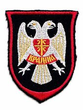 YUGOSLAVIA / SERBIA  - BALCAN WAR ERA - SERB ARMY OF KRAJINA PATCH