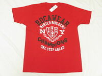 NWT NEW Mens Rocawear T-Shirt Champions Graphic Print Tee Red Urban Size XL N230