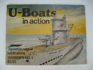 Squadron/Signal Publications Warships Series #1 U-Boats in Action
