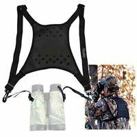 Gosky Deluxe Double Sling Shoulder Neck Strap Belt - Binocular Harness