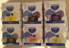 24 Fresubin 2 kcal und Fibre Drink 6x4x200ml Mischkarton 6 Geschmacksrichtungen