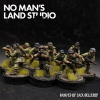 Pro Painted 28mm Bolt Action german pioneer squad ×10 Ww2 Warlord Games