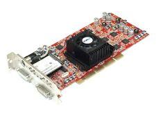 HP 313287-001 AGP pro Graphics card tarjeta grafica ATI FireGL x1 256mb 2x dual DVI