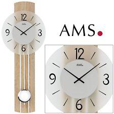 AMS 44 Reloj de pared - Reloj Reloj para salón Reloj Péndulo Reloj de cuarzo 626