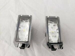 16-18 JEEP GRAND CHEROKEE REAR LICENSE PLATE LIGHT LAMP (Both Sides) (LED) OEM