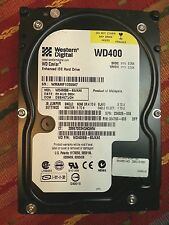 "Western Digital WD400BB-60JKA0 40gb IDE 3.5"" Hard Drive - Working pulls"